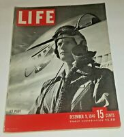December 9, 1946 LIFE Magazine WAR Plane FREE SHIP Dec 12 46 10 11 13 14 1940s