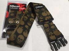 Dimarzio Camo Skull Cordura Cliplock Sangle Ibanez Steve Vai Jem RG-toute guitare!