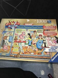 RAVENSBURGER 'what If' 1000 Piece Jigsaw Puzzle - No 6