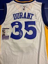Kevin Durant Signed Jersey JSA COA Golden State Warriors Adult L