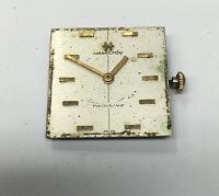 Vintage Men's Hamilton Thin Line Watch Dial & Movement Cal 680 For Parts Repair