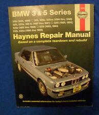 Haynes 18020 Repair Manual 3 & 5 Series BMW Several Models and Years