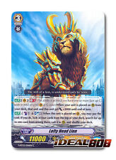 Cardfight Vanguard  x 4 Lofty Head Lion - G-BT03/056EN - C Pack Fresh Mint