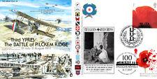 GW38 grande guerre RAF Cover WWI troisième Ypres Bataille Passchendaele 2008 Dbl FDC 2017