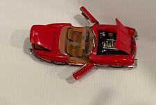 Franklin Mint Mercedes Benz 300SL Roadster 1:24 Original Box/Papers  #B11XA116