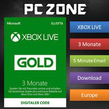 3 Monate Xbox Live Gold Mitgliedschaft - Xbox One / Xbox 360 - Download Code EU