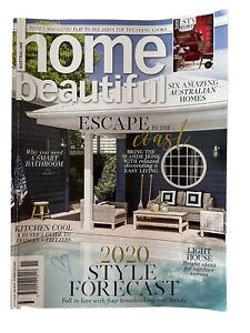 Australian Home Beautiful Magazine November 2019 Includes Style Forecast 2020
