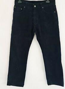 GANT Mens Jason Black Soft Twill Jeans Regular straight 34W x 32L.