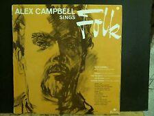 ALEX CAMPBELL  Sings Folk   LP       Lovely copy!