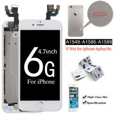 """Original iPhone 6G 4.7""""LCD Touch Screen Replacement Digitizer+Home Button+Camera"""