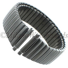 16-22mm Hadley Roma Titanium Satin Stainless Steel Mens Expansion Band MB7168TI