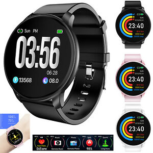 Bluetooth Smart Watch Sport Heart Rate Wrist Watch for Android Samsung S10 S9 LG