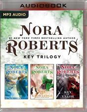 Nora Roberts Key Trilogy 3 Unabridged MP3 Audios Key of Light, Knowledge & Valor