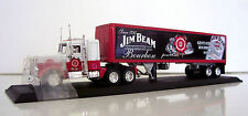 Peterbilt Semi-Trailer Truck Jim Beam Custom Graphics Applied