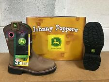 John Deere Johnny Poppers #Jd2344 Size 12.5 Leather Boots