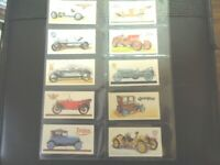 1968 Brooke Bond Tea HISTORY OF THE MOTOR CAR automobile Trading set  50 cards
