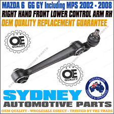 *OEM QUALITY* RIGHT - Mazda 6 GG GY incl MPS Front Straight Lower Control Arm RH