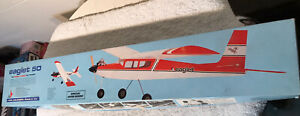 VINTAGE Eaglet 50 Trainer RC Airplane Kit .09-.25 FROM CARL GOLDBERG