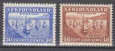 Newfoundland No. 198 & 199 Mint Never Hinged Very Fine