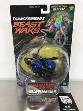 Transformers Beast Wars Walmart Exclu. Transmetals Rattrap DLX Class New Sealed