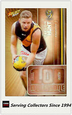2017 AFL Footy Stars Trading Card Milestones Subset MG56 Taylor Hunt (Richmond)
