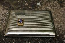 porte cigarette métal argenté Dumont Durville