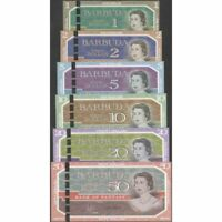 TWN - BARBUDA - 1-2-5-10-20-50 D. 2019 UNC Polymer - OW - Set of 6 Private issue