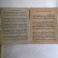 Vintage Sheet Music  I Dream of Jeanie  1939 Stephen Foster 10.75