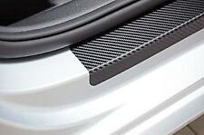 3D Efecto De Fibra De Carbono Protector de paso de la Puerta Umbral Protectores se ajusta Volvo/Saab (02)