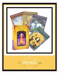 Ascended Masters Oracle Cards Doreen Virtue BRAND NEW (Electronic Guidebook)