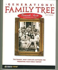 Generations Family Tree Grande Suite V 6.0 Manual Sierra Home Book