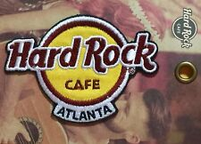 Hard Rock Cafe ATLANTA 2017 Classic HRC Logo PATCH on Card NEW! Iron/Sew ON