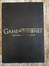 Game of Thrones Complete Season 1-5 DVD Very Good UK Region 2