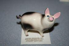 Hagen Renaker,Pig,Papa Pig,Gift,Figurine,Miniature,New,2017,Free Shipping,02078