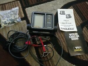 EAGLE FISH I.D. FISH FINDER MONITOR W/ PIVOTING MOUNTING BRACKET -