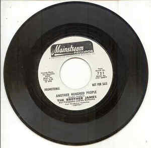 45 - The Brothers James w/ Ron Frangipane Orch. - Another Hundred People - PROMO