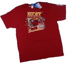 New! NBA Miami Heat - Red Adidas Cotton T-Shirt 2XL NWT