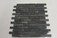 Sample  Black  Brickbone Basalt Stone wall  floor tiles