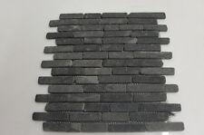 Nero di esempio brickbone Basalto Muro di Pietra Piastrelle