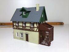 Haus mit Anbau Fachwerk Schuppen Immobilie Faller N Zustand (2-3) NV2-27