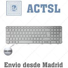 Teclado Español para HP PAVILION DV6-6B17ES Silver with FRAME