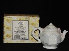 Precious Moments Enesco Porcelain Friendship Hits the Spot Teapot 346586 A 1993