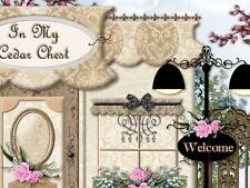 Victorian Chic Fashion Shabby Vtg Boutique Mobile Friendly Ebay Auction Template