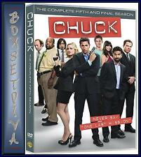 CHUCK - COMPLETE SERIES  5 *BRAND NEW DVD *