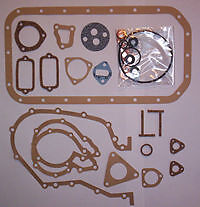 LAND ROVER 88, 90, & 109 SERIES 2, 2A & 3 2 1/4 PETROL BOTTOM GASKET SET TO 1980