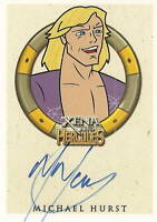 Hercules Xena Michael Hurst as Iolaus autograph auto insert trading card