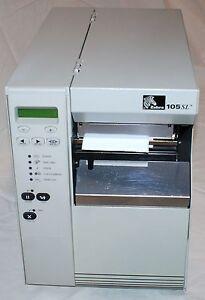 Zebra 105SL Barcode Label Printer / 90 Day Warranty / 300dpi / Ethernet