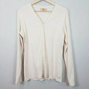 [ R.M WILLIAMS ] Womens Beige Cardigan | Size AU 16