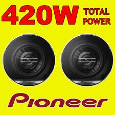 "FIAT 500 Front Dash Speakers Pioneer 4"" 10cm Car Speaker Kit 200w"
