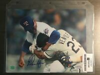 NOLAN RYAN FIGHT VS VENTURA SIGNED Autographed 16x20 Photo Framed BAS COA